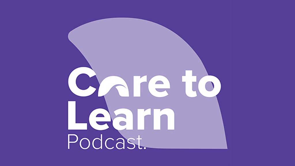 Image for Care to Learn Podcast Episode 9: Geoff Ahern