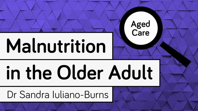 Image for Malnutrition in the Older Adult