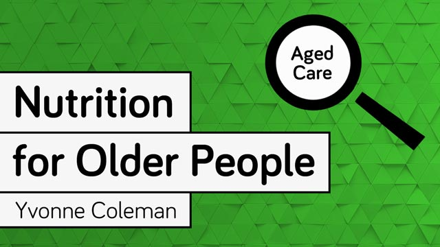 Cover image for: Nutrition for Older People