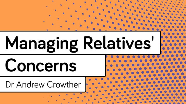 Cover image for: Managing Relatives' Concerns