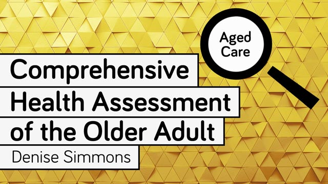 Image for Comprehensive Health Assessment of the Older Adult