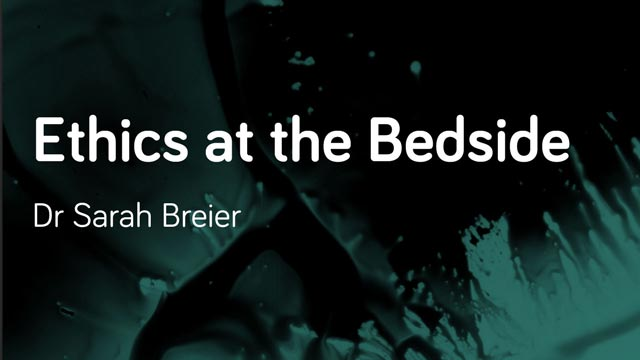 Image for Ethics at the Bedside