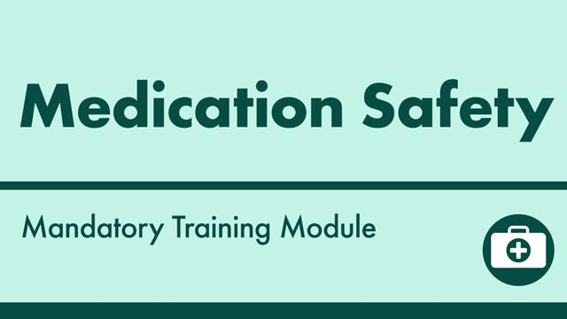 Image for Medication Safety