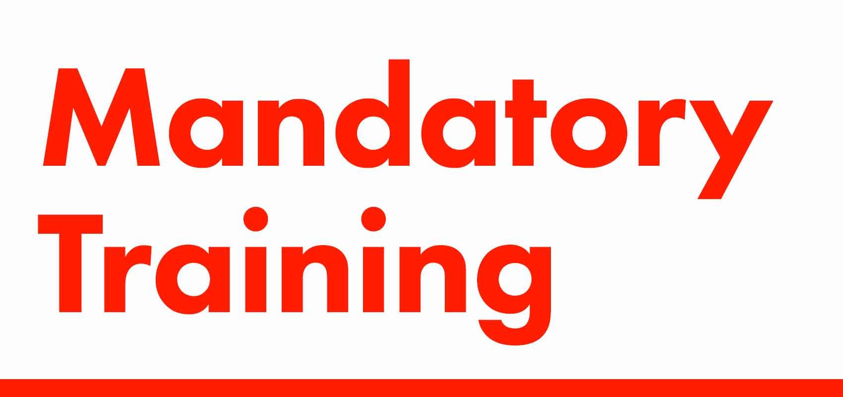 Mandatory Training Resources