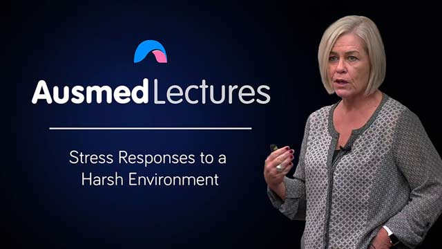 Cover image for lecture: Stress Responses to a Harsh Environment