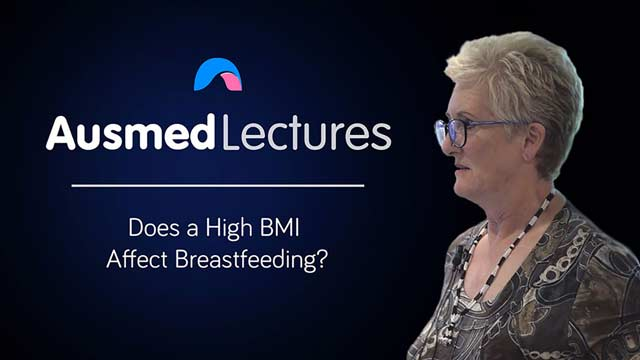 Cover image for lecture: Does a High BMI Affect Breastfeeding?