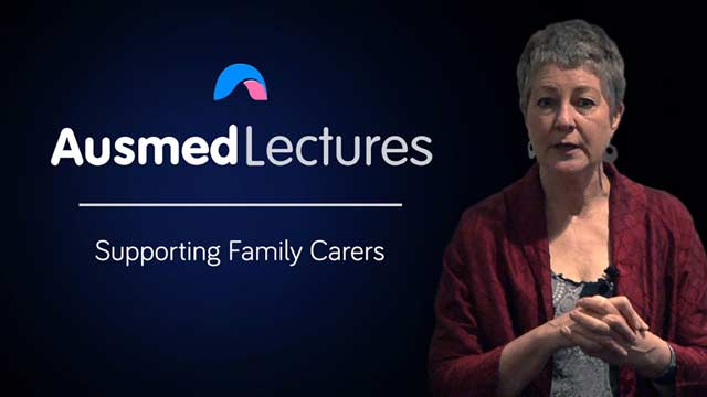 Cover image for lecture: Supporting Family Carers