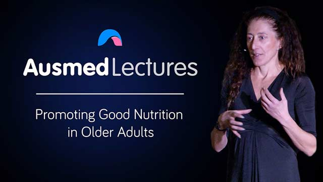 Cover image for lecture: Promoting Good Nutrition in Older Adults