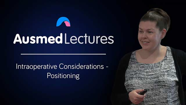 Cover image for lecture: Intraoperative Considerations - Positioning