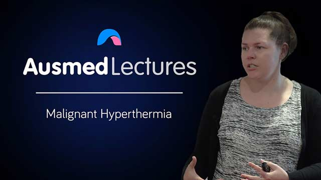 Cover image for lecture: Malignant Hyperthermia