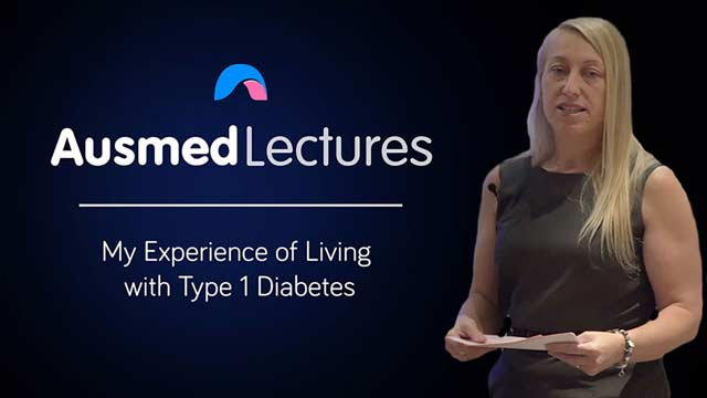 Cover image for lecture: My Experience of Living with Type 1 Diabetes