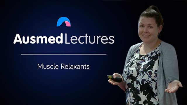 Cover image for lecture: Muscle Relaxants