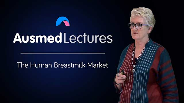 Cover image for lecture: The Human Breastmilk Market