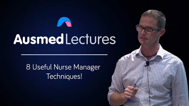 Cover image for lecture: 8 Useful Nurse Manager Techniques!