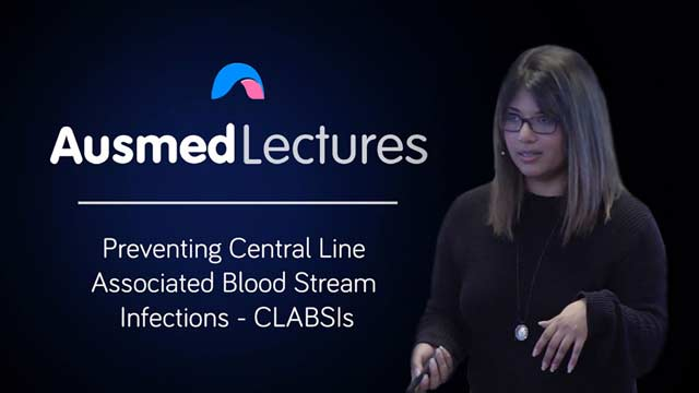 Image for Preventing Central Line Associated Blood Stream Infections - CLABSIs