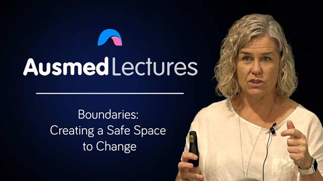 Cover image for lecture: Boundaries: Creating a Safe Space to Change