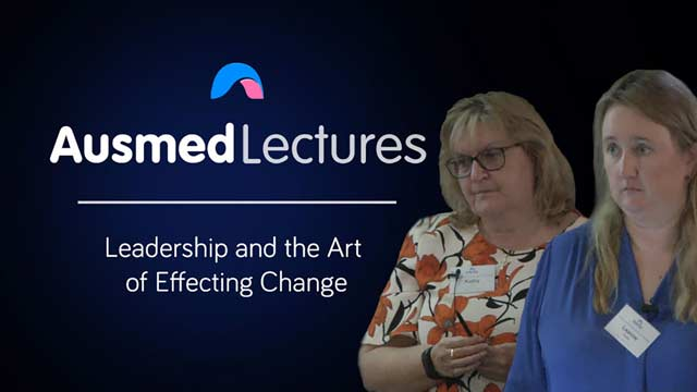 Cover image for lecture: Leadership and the Art of Effecting Change