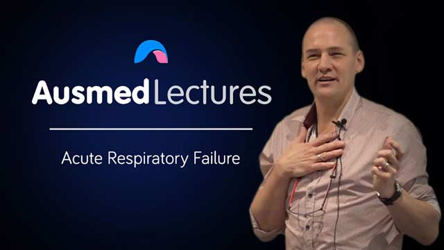 Cover image for lecture: Acute Respiratory Failure