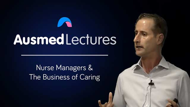 Cover image for lecture: The Business of Caring
