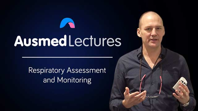 Cover image for lecture: Respiratory Assessment and Monitoring