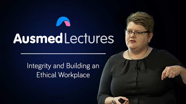 Cover image for lecture: Integrity and Building an Ethical Workplace