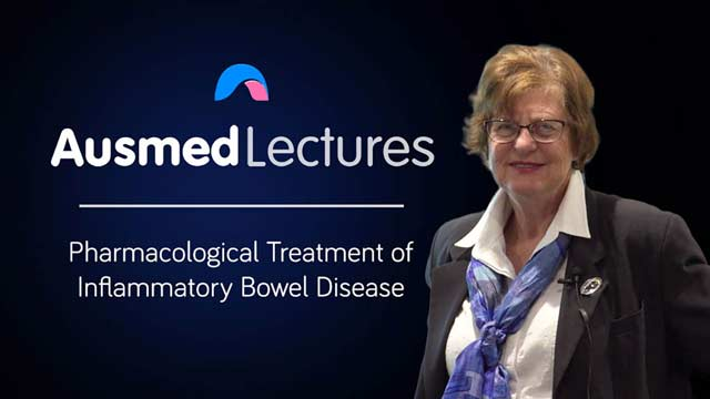 Cover image for lecture: Pharmacological Treatment of Inflammatory Bowel Disease