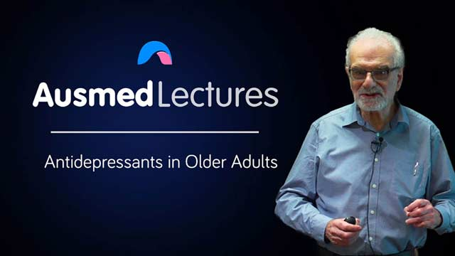Cover image for lecture: Antidepressants in Older Adults