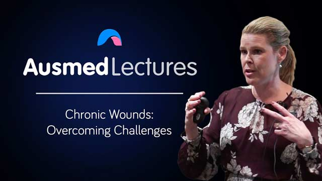 Cover image for lecture: Chronic Wounds: Overcoming Challenges