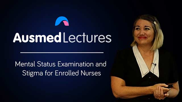Image for Mental Status Examination and Stigma for Enrolled Nurses
