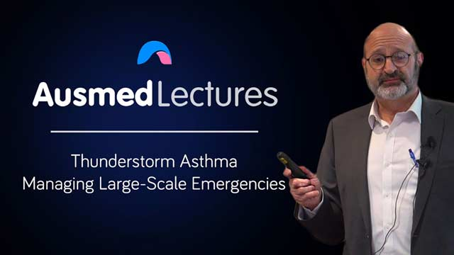 Image for Thunderstorm Asthma: Managing Large-Scale Emergencies