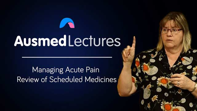 Image for Review of Scheduled Pain Medicines