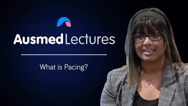 Cover image for lecture: What is Pacing?
