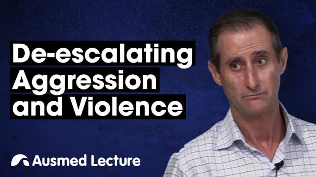Image for De-escalating Aggression and Violence
