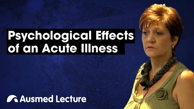 Image for Psychological Effects of an Acute Illness