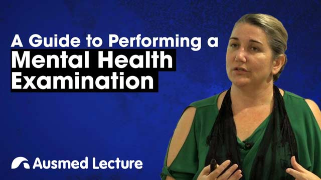 Image for A Guide to Performing a Mental Health Examination