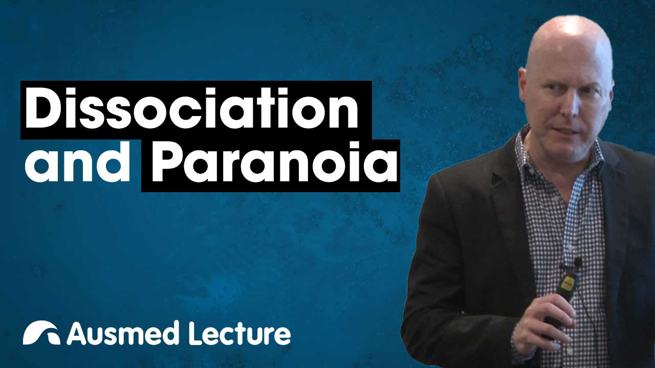Image for Dissociation and Paranoia