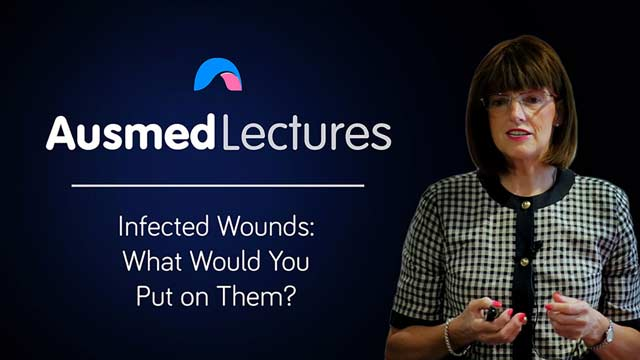 Cover image for lecture: Infected Wounds: What Would You Put on Them?