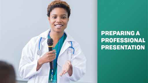 Image for Preparing a Professional Presentation for Health Care Workers